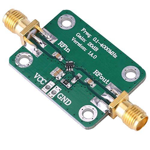 PBOHUZ Amplificador RF -0.1-4000MHz Módulo Amplificador RF de microondas de Banda Ancha de Banda Ancha Ganancia 20dB
