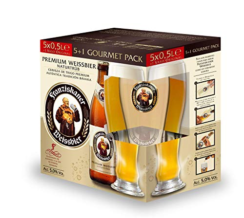Franziskaner Cerveza, 5 x 0.5cl