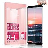 Youer Verre Trempé Galaxy S8 Couverture Complète, Compatible 3D Touch en Verre...
