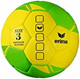 Erima Griptonyte Training Ballon de Handball Mixte Enfant, Jaune/Vert, Taille 1