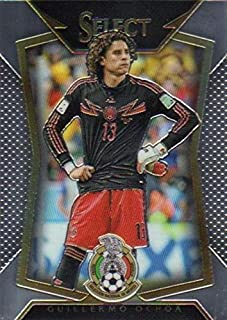 Guillermo Ochoa trading card (Goalkeeper, Mexico Soccer Futbol) 2015 Prizm Chrome #91