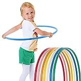 Hoopomania® Kinder Hula Hoop Reifen, Durchmesser 70cm in blau