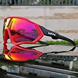 Generic Brands TR90 Cycling Sunglasses MTB Polarized Sports Cycling Glasses Goggles Bicycle Mountain Bike Glasses Men/Women...