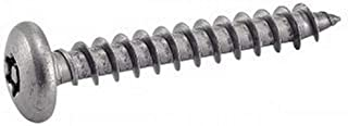 Tornillos autorroscantes M6 16-100mm Cruz empotrada planas de cabeza avellanada autorroscantes tornillos for madera Hardware 10PCS 304 Tornillos de acero inoxidable M6