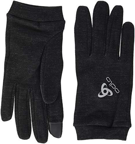 Odlo Natural+Warm Gants Mixte Adulte, Noir, FR (Taille Fabricant : XL)