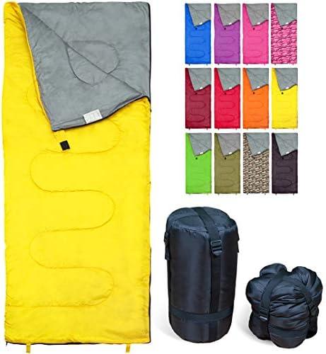 Top 10 Best yellow sleeping bag Reviews