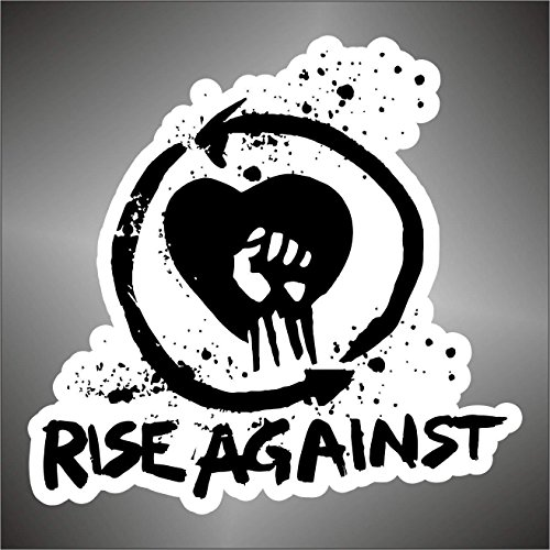 Graphic-lab Aufkleber - Sticker Rise Against hip hop Rap Jazz Hard Rock pop Funk Sticker