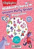 Unicorn Hidden Pictures Puffy Sticker Playscenes (Highlights Puffy Sticker Playscenes)