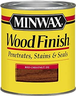 Minwax 70046 1 Quart Wood Finish Interior Wood Stain, Red Chestnut Color: Red Chestnut, Model: 70046, Tools & Outdoor Store