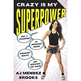 Crazy Is My Superpower audiobook cover art