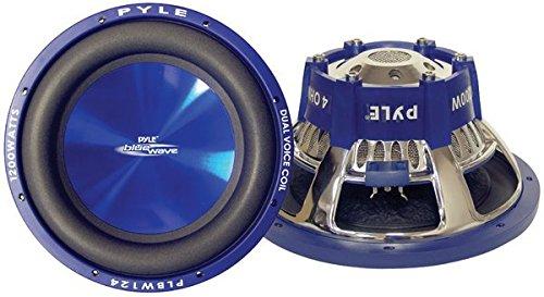 Pyle PLBW84 600W Blue Wave Hochleistungs-Subwoofer 8 Zoll