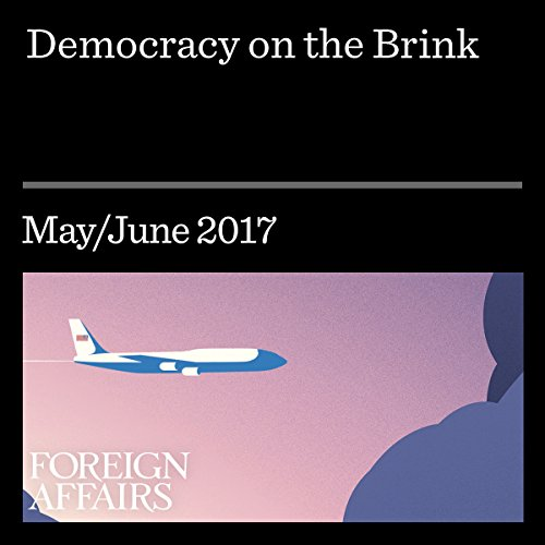 Democracy on the Brink audiobook cover art