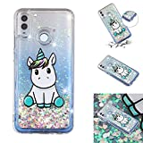 HopMore Glitter Case for Honor 8A / Huawei Y6 2019 Silicone