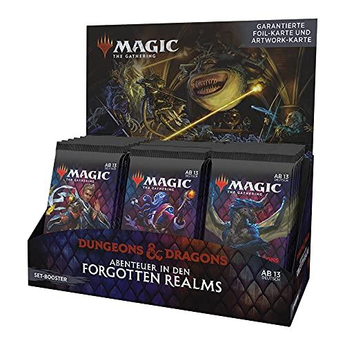 Magic The Gathering C88981000 Abenteuer in den Forgotten Realms Set Display, 30 Booster (Deutsche Version)