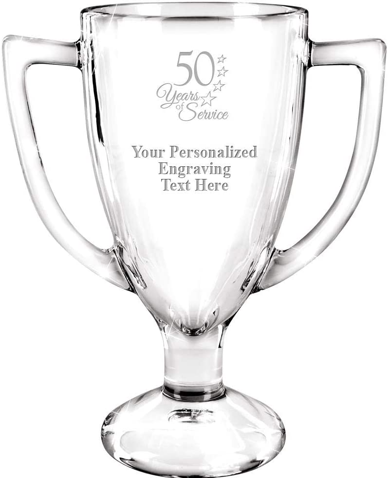 Personalized Glass Regular discount Trophy 7