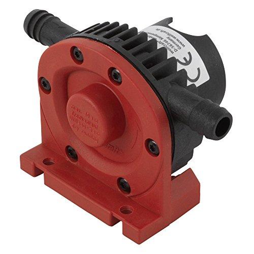 wolfcraft Bohrmaschinen Pumpe mit Kunststoffgehäuse 2202000; Selbstansaugende Wasserpumpe mit bis zu leistungsstarken 1300 l/h – ideal als Gartenpumpe oder zum Auspumpen verschiedener Wasserbetten