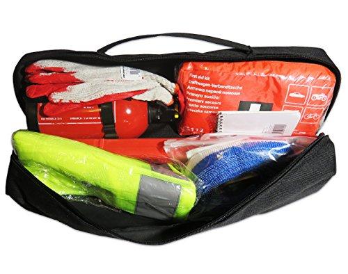 EJP-Bag Praktisches Erste-Hilfe-Set (Notfall-Set). Kofferraumtasche Passend für SL R230