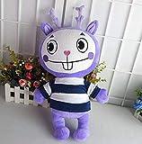 HNFSCLUB Stuffed Toys Happy Tree Friends Plush Dolls Anime HTF Flippy Plush Toys Soft Mime 38CM