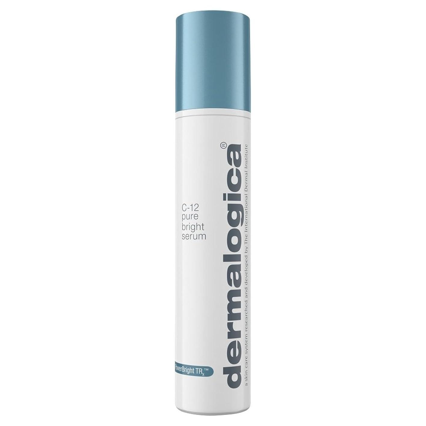 ポテト時刻表フットボールダーマロジカPowerbright Trx?C-12純粋な明るい血清50ミリリットル (Dermalogica) (x6) - Dermalogica PowerBright TRx? C-12 Pure Bright Serum 50ml (Pack of 6) [並行輸入品]