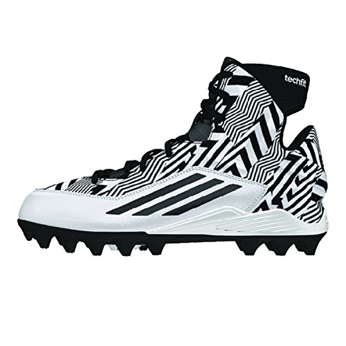 adidas Filthyquick 2.0 Mid Youth Football Cleats White/Black 3.5