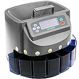 PrimeMatik - Contador de Monedas con clasificador automático para Euro y Visor Multi-Moneda