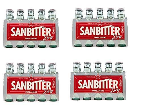 40x Stück Sanbittèr weiss dry 100 ml Aperitif Sanbitter Klassisch Italienisch