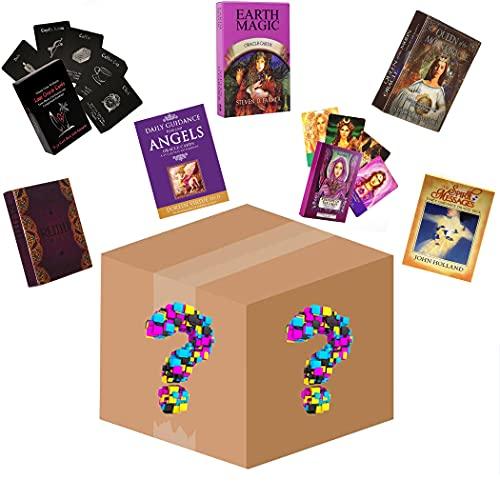 M STAR Caja de Misterio de Tarjetas de Oracle al Azar, Tarjetas de Deck Oracle usadas para la adivinación y predecir el Futuro, Juegos de Cartas de Mesa adecuados para Fiestas
