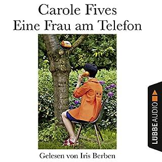 Eine Frau am Telefon Titelbild