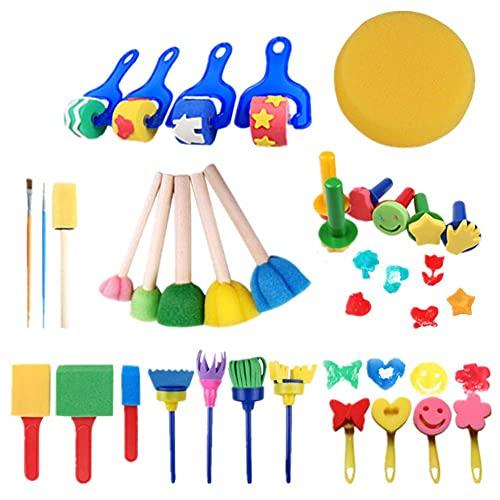 DealMux Penseelset voor kinderen, penselen voor kinderen, schilderset voor kinderen, penselen voor kinderen, penseel…