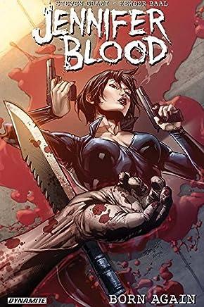 Jennifer Blood: Born Again by Steven Grant(2015-09-08)