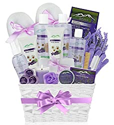 Deluxe spa basket for mom on Mother's day