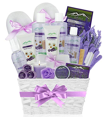 Premium Deluxe Bath & Body Gift Basket. Ultimate Large Spa Basket with...
