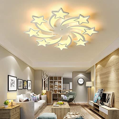 The only Good Quality binnenlamp creatieve kamerlamp woonkamer sterren rond LED plafondlamp zonder traploos dimbaar huis modern restaurant hotel kledingwinkel decoratief licht