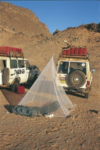 Relags Brett Schneider Fine Mesh Pyramid Moustiquaire Simple Blanc Taille Unique