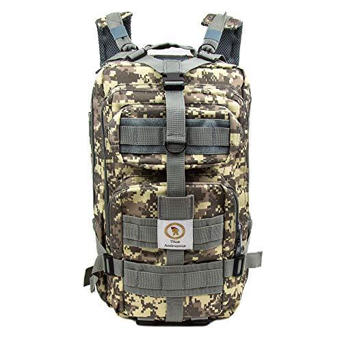 Titus Andronicus Militärischer taktischer Rucksack – Molle Bug Out Bag – Armee-Assault Pack für Outdoor und täglichen Gebrauch