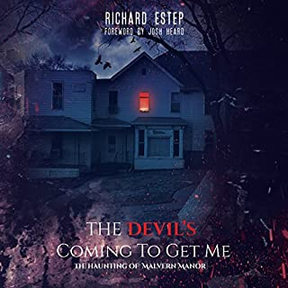The Devil's Coming to Get Me audiobook cover art