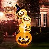 Kalolary 8 Fuß hög Halloween Uppblåsbara
