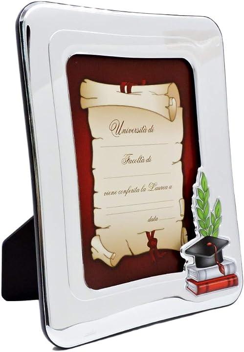 Cornice porta foto in argento per conservare le fotografie e i ricordi 51034-4L