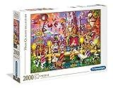 Clementoni- Puzzle 2000 Piezas El Circo, Multicolor (32562.7)