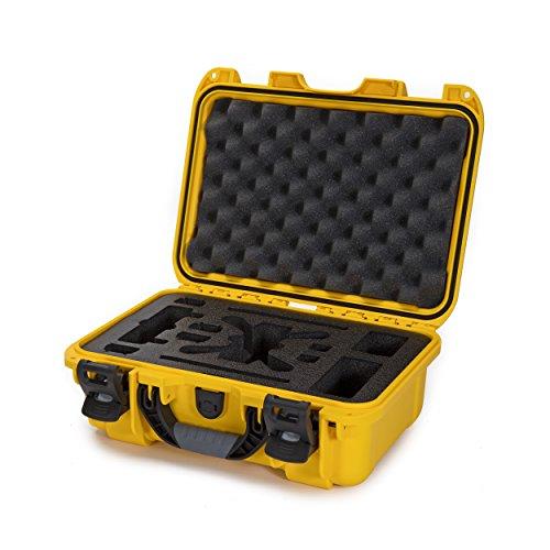 Nanuk 915 Waterproof Hard Drone Case with Custom Foam Insert for DJI Spark Flymore - Yellow