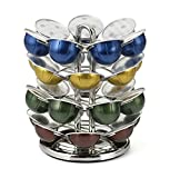 Nifty Nespresso Vertuoline Carousel,Nickel Chrome