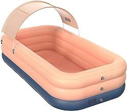 FAPROL Piscina Inflable con Refugio Solar Bañera Multijugador Patio Infantil Piscinas Infantiles, Juegos Acuáticos De Verano
