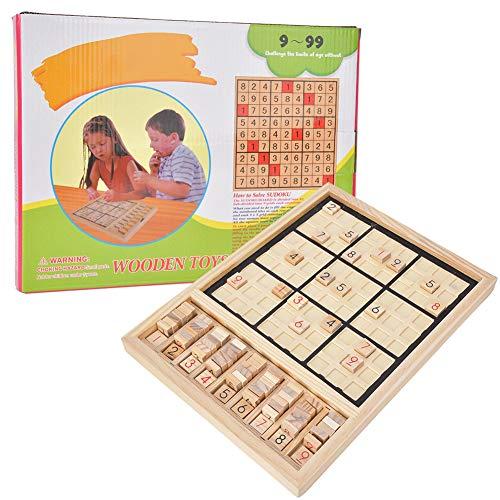 Number Puzzle Toy voor Kinderen - Kinderen Houten Nummer Puzzel Speelgoed voor Kinderen - Bordspel Kid Intelligence Logische Ontwikkeling Educatief Speelgoed