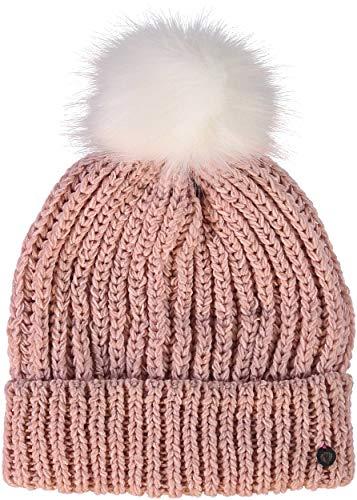 FRAAS Damen Mütze, 24 x 23 cm, Polyacryl Hellrosa
