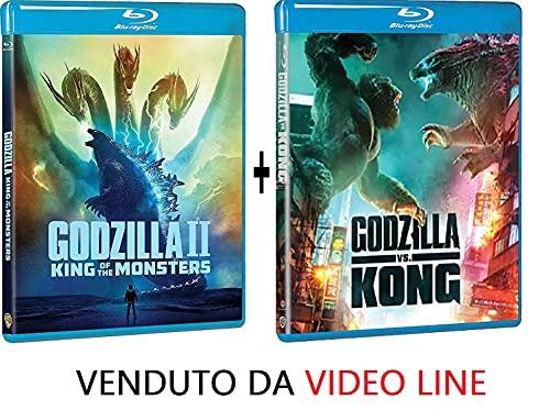 Godzilla 2: King Of The Monsters / Godzilla vs Kong (2 Film Blu Ray) Edizione Italiana ⚠️ VENDUTO DA VIDEO LINE ⚠️