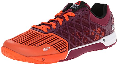 Reebok Women's Crossfit Nano 4.0-w, Flux Orange/Rebel Berry/White/Black, 6 M US