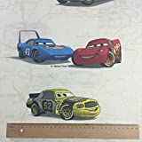 Licensed by Disney Pixar - Cream Cars Print Premium Grade