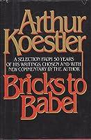 Bricks to Babel 0394518977 Book Cover
