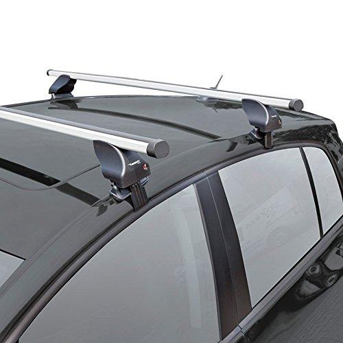 Twinny Load K02842539 Juego Techo de Aluminio A39 Compatible con Alfa Romeo/Fiat/Hyundai Varios Modelos (para Coches sin Barras longitudinales)
