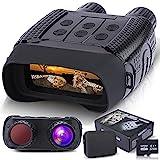 Binoculares Visión Nocturna, Prismáticos gafas Infrarrojos Digital Visión Nocturna con 2,31' LCD TFT para la Caza, Cámara fotográfica HD de 1280x960p Grabadora de video con Tarjeta de Memoria de 32G